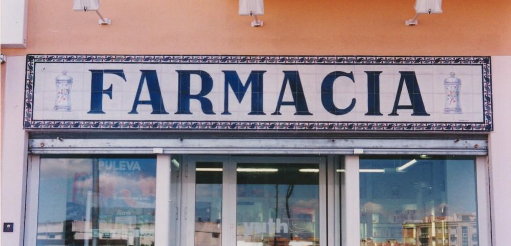Rótulo Farmacia