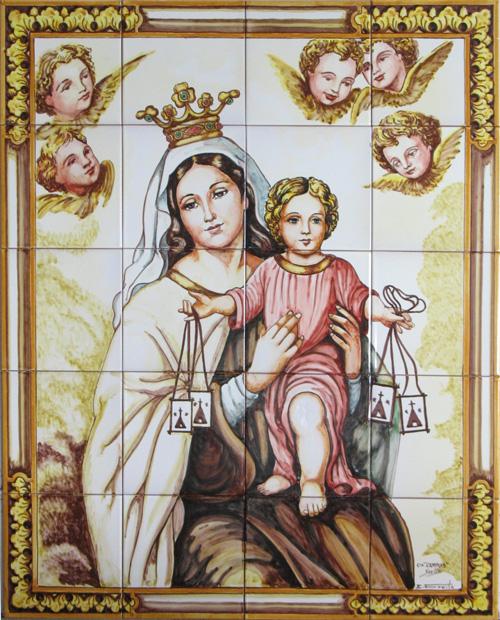 Cuadro Virgen del Carmen.