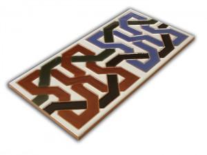 P510 Azulejo Pie 14x28 cm.