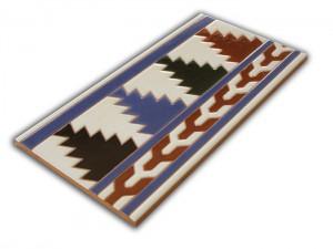 R510 Azulejo remate 14x28 cm.