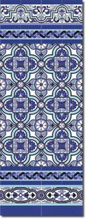Zócalo azulejos estilo sevillano 103