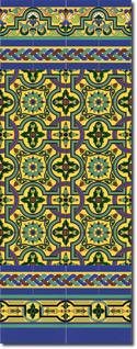 Zócalo azulejos estilo sevillano 138