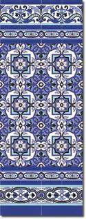 Zócalo azulejos estilo sevillano 143