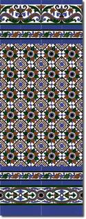 Zócalo azulejos estilo sevillano 160