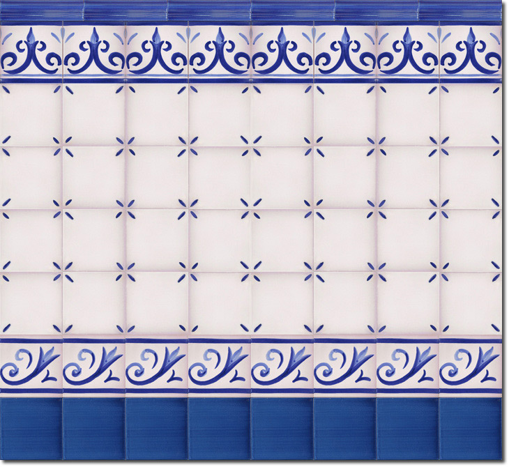 Zócalo de azulejos ref. SV2523-3