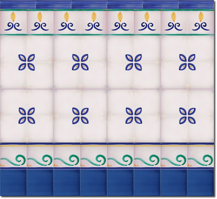 Zócalo de azulejos ref. SV2566-3