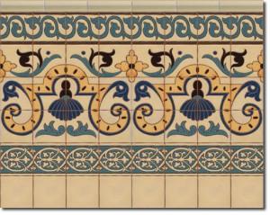Z calo de azulejos r sticos modelo cs8051 1 cer mica campos for Zocalos de ceramica