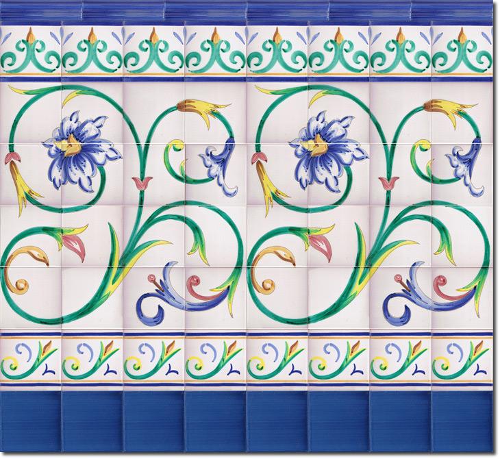 Zócalo de azulejos ref. SV9021-3