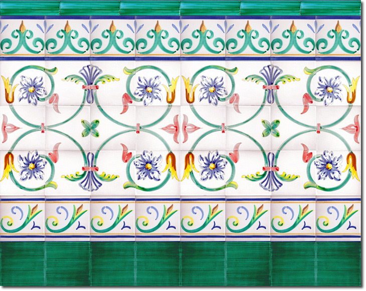 Zócalo de azulejos ref. SV9031-2