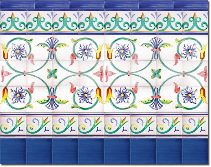 Zócalo de azulejos ref. SV9031-3