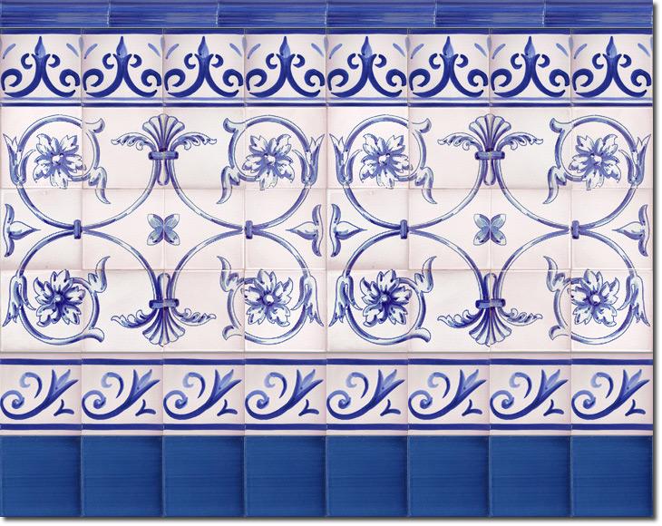 Zócalo de azulejos ref. SV9033-3