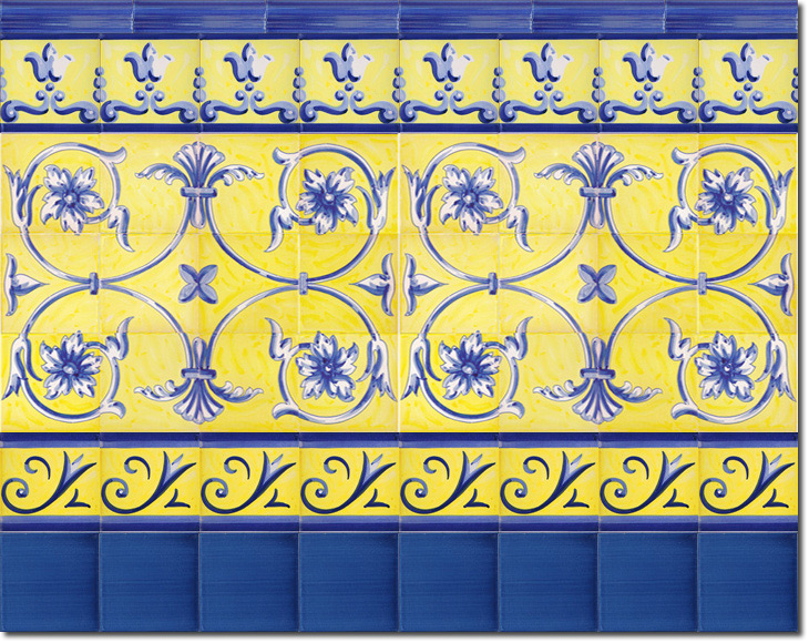 Zócalo de azulejos ref. SV9038-3