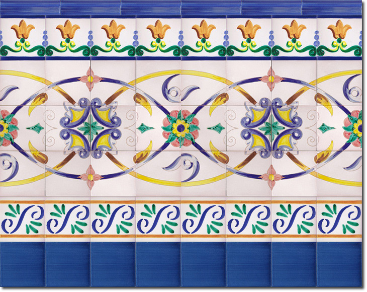 Zócalo de azulejos ref. SV9041-3