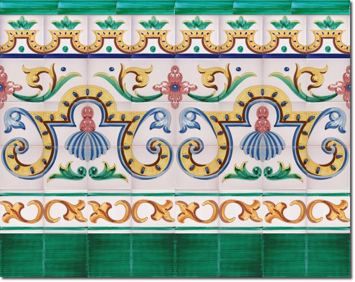 Zócalo de azulejos ref. SV9051-2