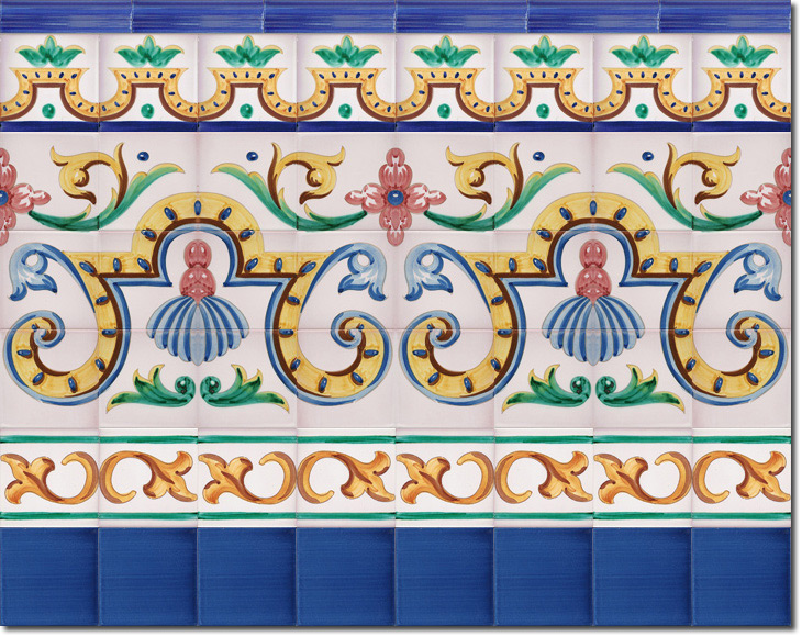 Zócalo de azulejos ref. SV9051-3