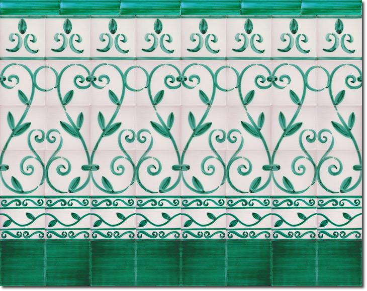Zócalo de azulejos ref. SV9062-2