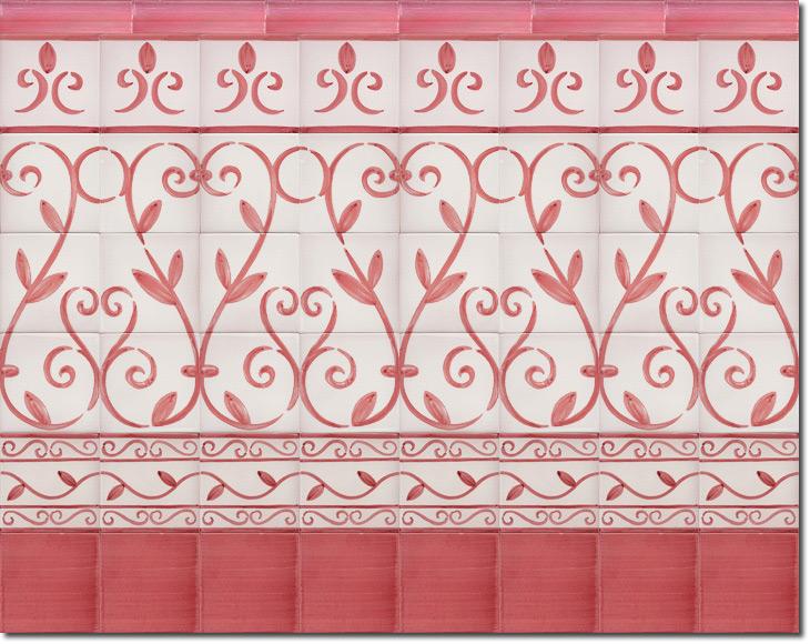 Zócalo de azulejos ref. SV9065-5