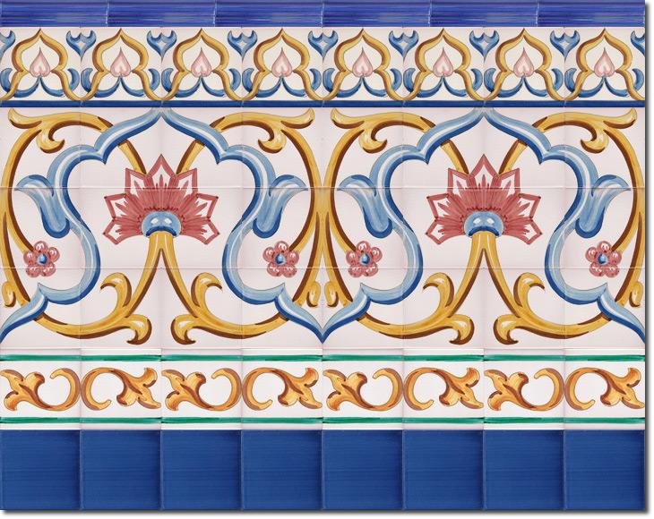 Zócalo de azulejos ref. SV9071-3