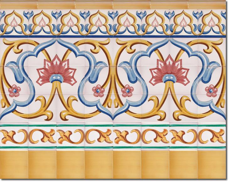 Zócalo de azulejos ref. SV9071-4