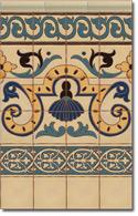 Zócalo azulejos estilo rústico 8051-1