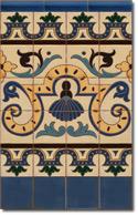 Zócalo azulejos estilo rústico 8051-3