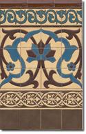 Zócalo azulejos estilo rústico 8072-6