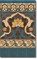 Zócalo azulejos estilo rústico 8076-2