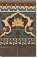 Zócalo azulejos estilo rústico 8076-6