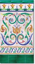 Zócalo de azulejos ref. SV9011-2