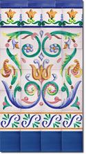 Zócalo de azulejos ref. SV9011-3