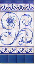 Zócalo de azulejos ref. SV9023-3