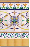 Zócalo de azulejos ref. SV9041-4