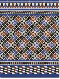 Z calo de azulejos estilo rabe modelo 580 azul cer mica - Zocalos de azulejos ...
