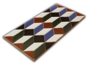 P540 Azulejo Pie 14x28 cm.