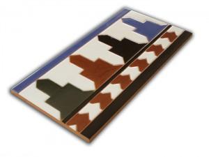 R520 Azulejo remate 14x28 cm.