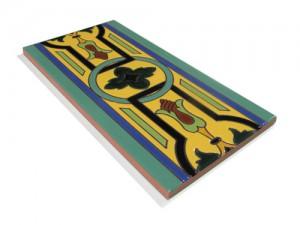 P138 Azulejo Pie 14x28 cm.