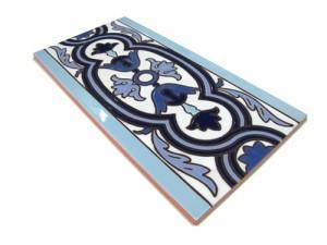P163 Azulejo Pie 14x28 cm.