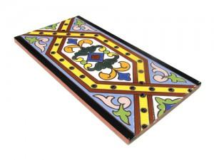 P184 Azulejo Pie 14x28 cm.