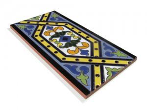 P185 Azulejo Pie 14x28 cm.