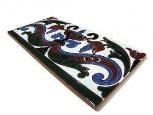 R110 Azulejo Remate 14x28 cm.