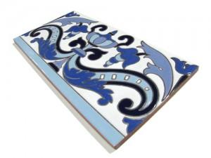 R113 Azulejo Remate 14x28 cm.