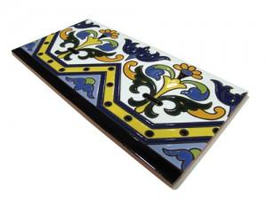 R185 Azulejo Remate 14x28 cm.