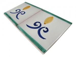 SV2037 Azulejo pincelado 15x15 cm.