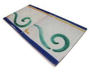 SV2057 Azulejo pincelado 15x15 cm.