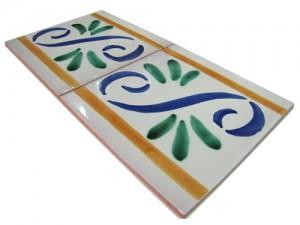 SV2087 Azulejo pincelado 15x15 cm.
