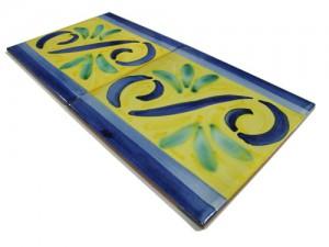 SV2088 Azulejo pincelado 15x15 cm.