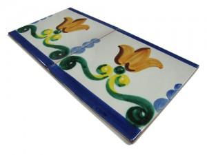 SV2091 Azulejo pincelado 15x15 cm.