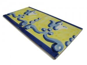 SV2098 Azulejo pincelado 15x15 cm.