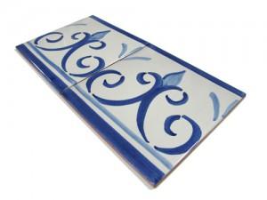 SV2103 Azulejo pincelado 15x15 cm.