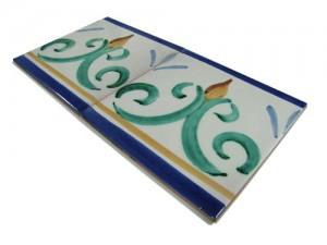 SV2107 Azulejo pincelado 15x15 cm.